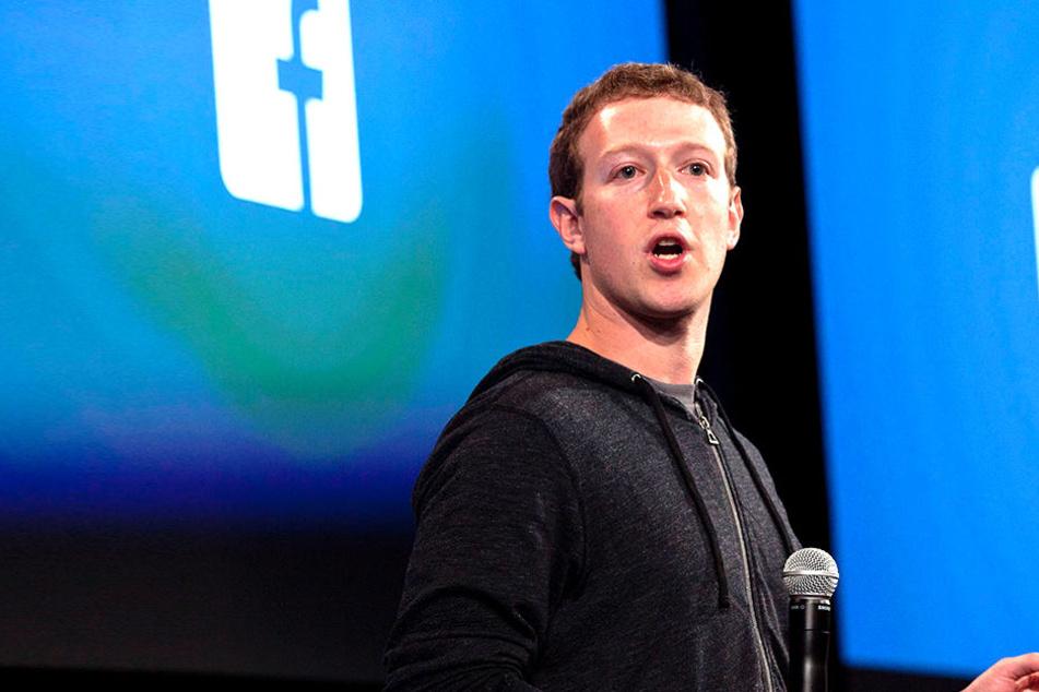 Gründer und Chef Mark Zuckerberg.