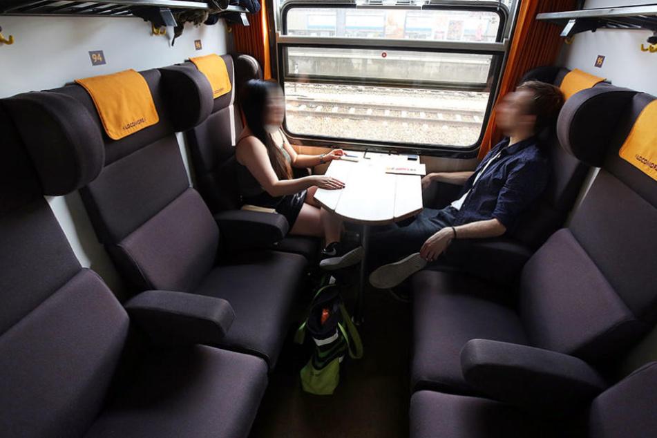 So sehen die einzelnen Kabinen des privaten Locomore-Fernzuges aus.