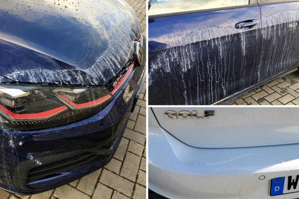Seit Monaten werden in Wolfsburg Autos mit schnelltrocknenen Sekundenkleber beschmiert.