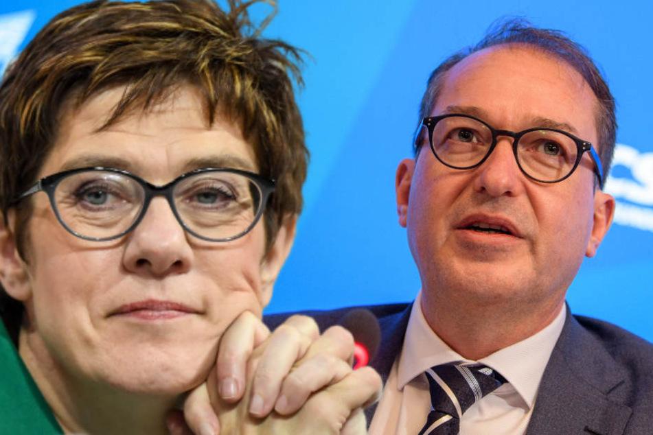 """Wird """"AKK"""" Merkels Erbe? Dobrindt hält Debatte für verfrüht"""