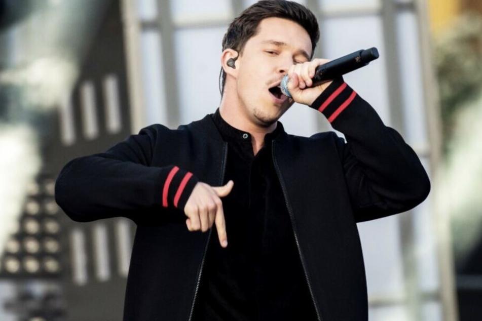 2020 nur auf Achse: Sänger Nico Santos (26).