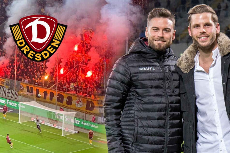 Dynamo: Aufstiegsheld Eilers drückt die Daumen, SGD führt 1:0