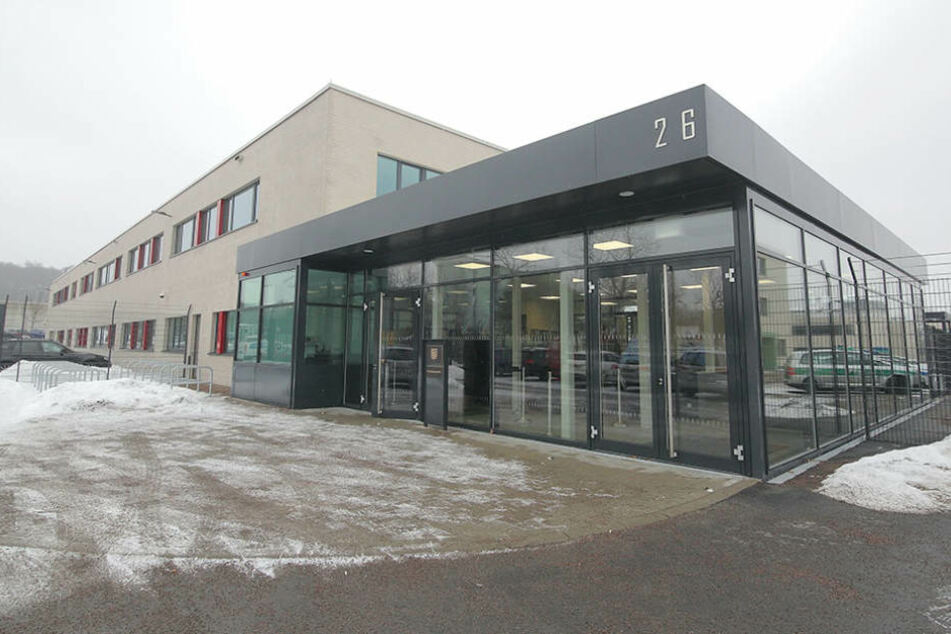 Sachsens Terror-Gericht: Am Hammerweg entstand ein eigenes  Gebäude samt Sicherheitsschleusen.