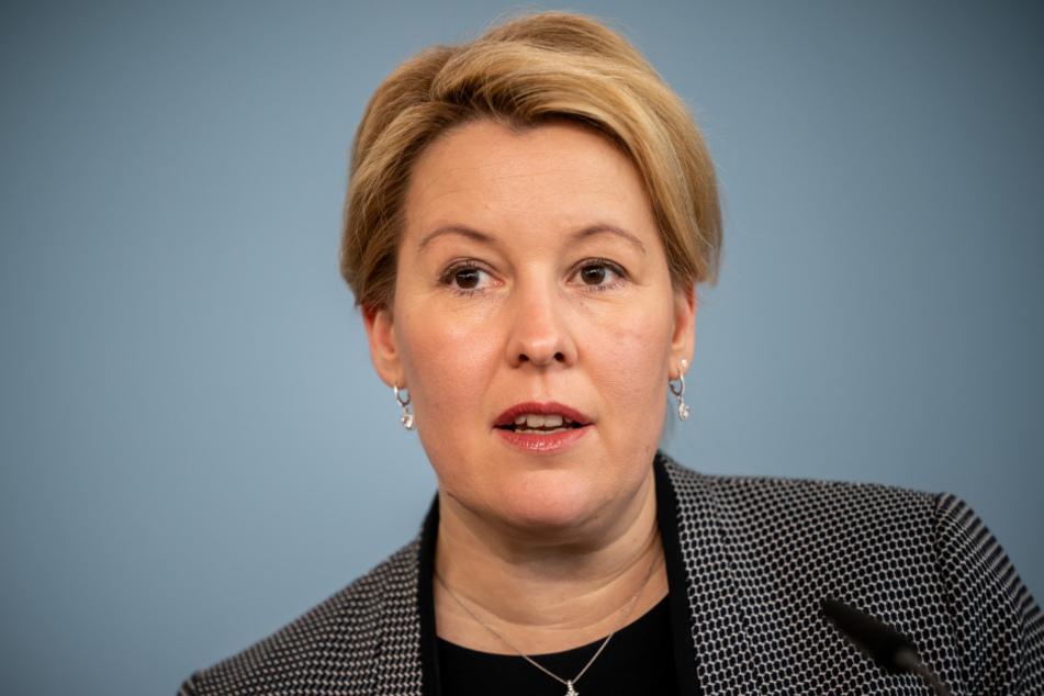Bundesfinanzministerin Franziska Giffey.