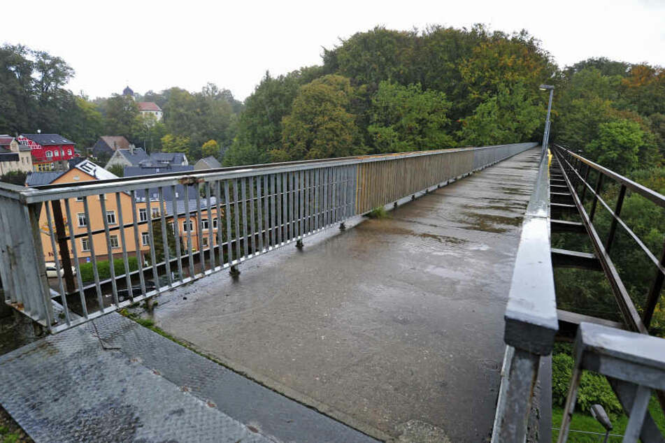 Die Brücke soll nach der Sanierung auch als Radweg genutzt werden. Dafür wird der Weg über das Viadukt verbreitert.