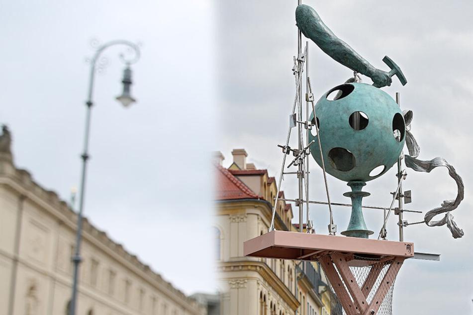 "Kunstaktion auf dem Neumarkt: Das passiert mit dem ""Permanenten Neuanfang"""