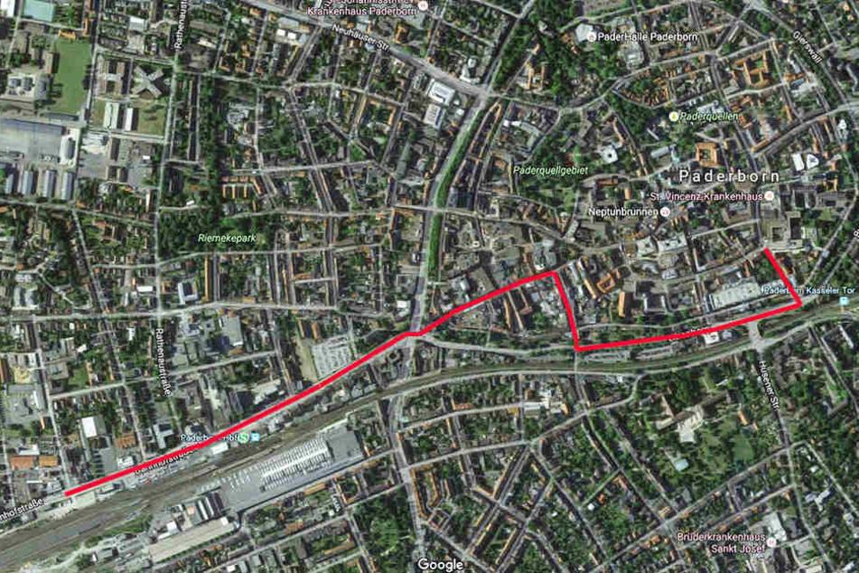 Auf dieser Strecke wird es für Autofahrer in der Zeit von 11 Uhr und 11.30 Uhr zu Einschränkungen kommen.