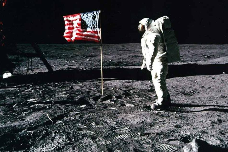 War der Apollo-11-Astronaut Edwin 'Buzz' Aldrin wirklich auf dem Mond?