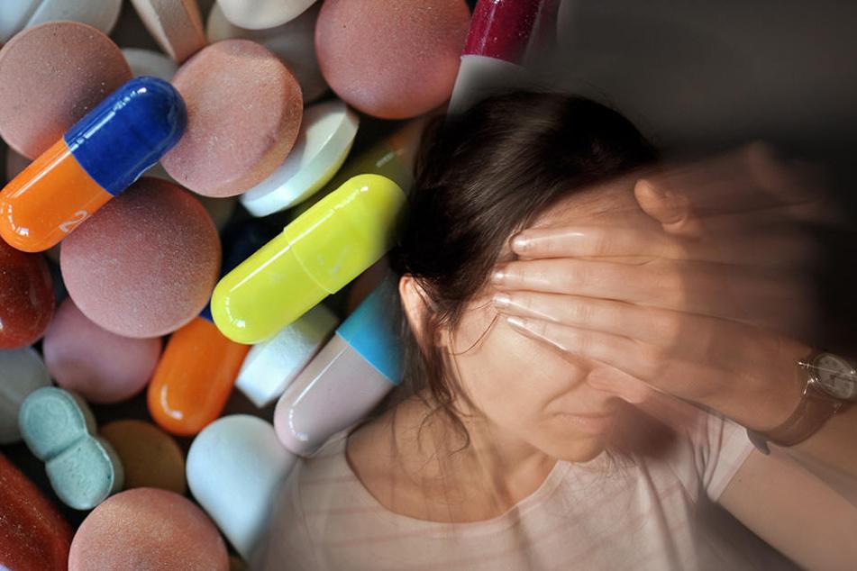 Die Sucht nach Schmerzmitteln ist keine versteckte Sucht. Betroffene werden mitunter arbeitsunfähig.