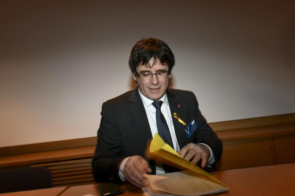 Carles Puigdemont wurde jetzt in Deutschland festgenommen.