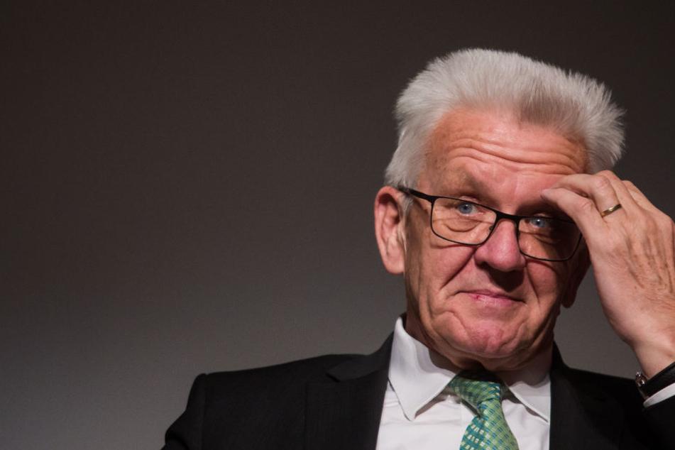 Schimpft über die Bundespolitik: Baden-Württembergs Ministerpräsident Winfried Kretschmann (Grüne).