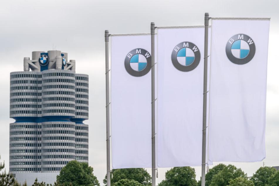 Die BMW-Zentrale in München.