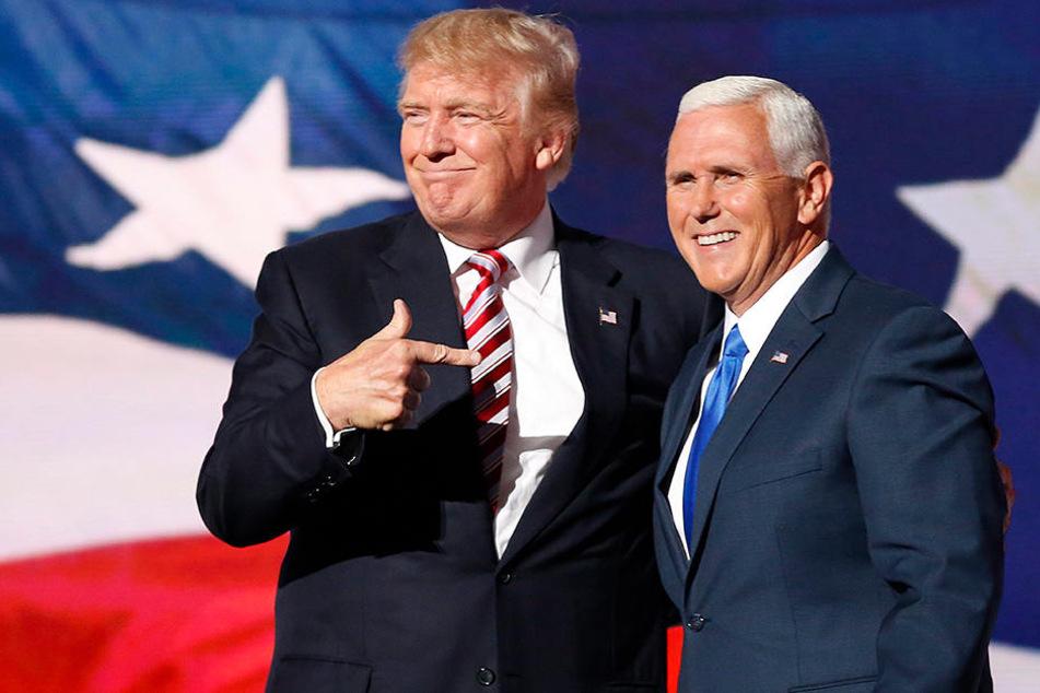 Mike Pence (57) ist von Donald Trump (70) als sein Vizepräsident ausgewählt und nun ebenso bestätigt worden.