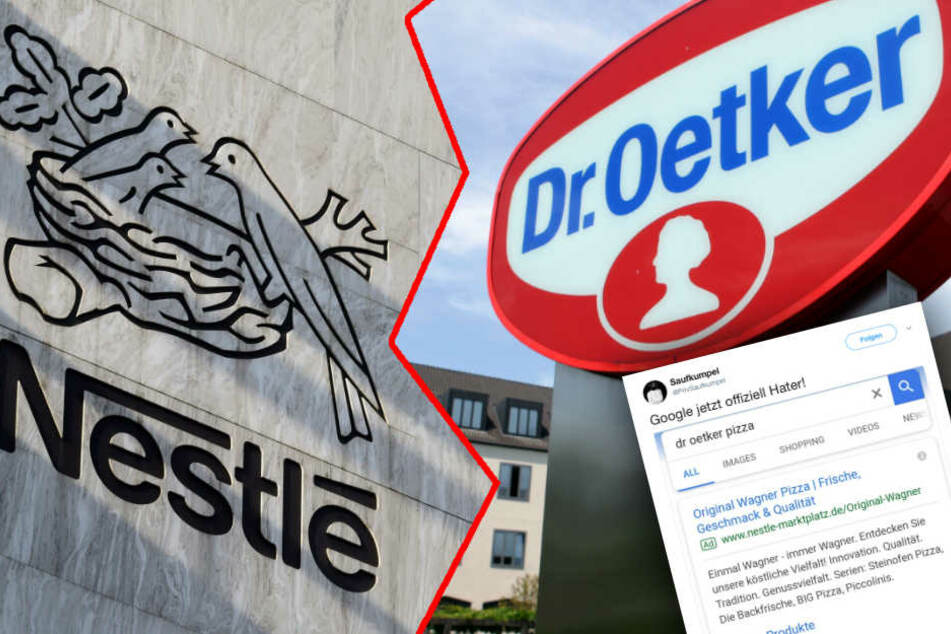 """""""Diese Schweine!"""" Löst harmlose Suchanfrage jetzt Streit zwischen Oetker und Nestlé aus?"""