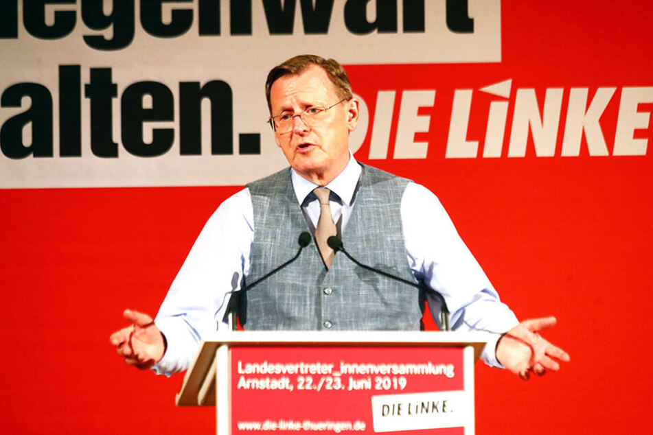 Bodo Ramelow (Linke, 63).