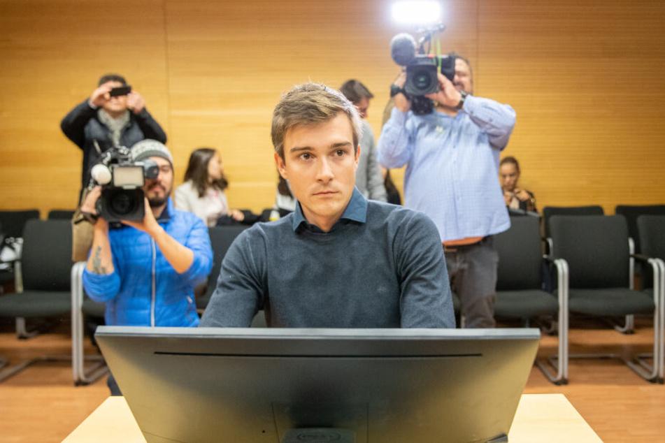 Max Hauke gab seine Tat vor Gericht zu, wehrte sich aber gegen einige Anschuldigungen.