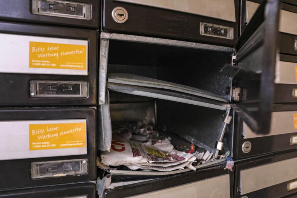 Dresden: Silvester vorgezogen: Explosion in Dresdner Briefkasten