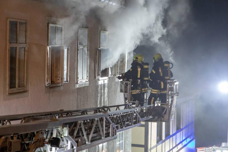 Mann stirbt bei Wohnungsbrand in Annaberg