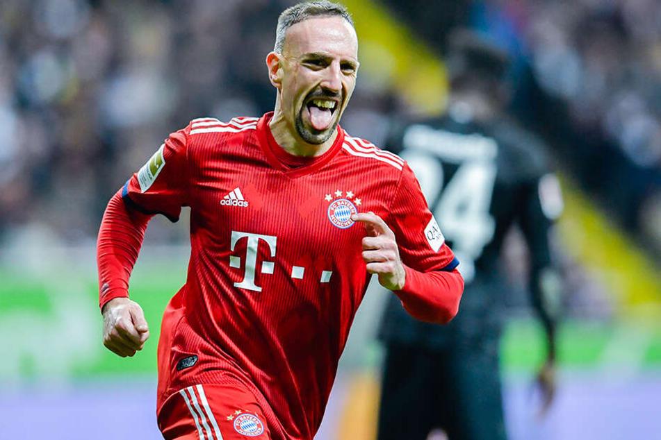 Kann Franck Ribery mit dem FC Bayern München die nächste Meisterschaft feiern?