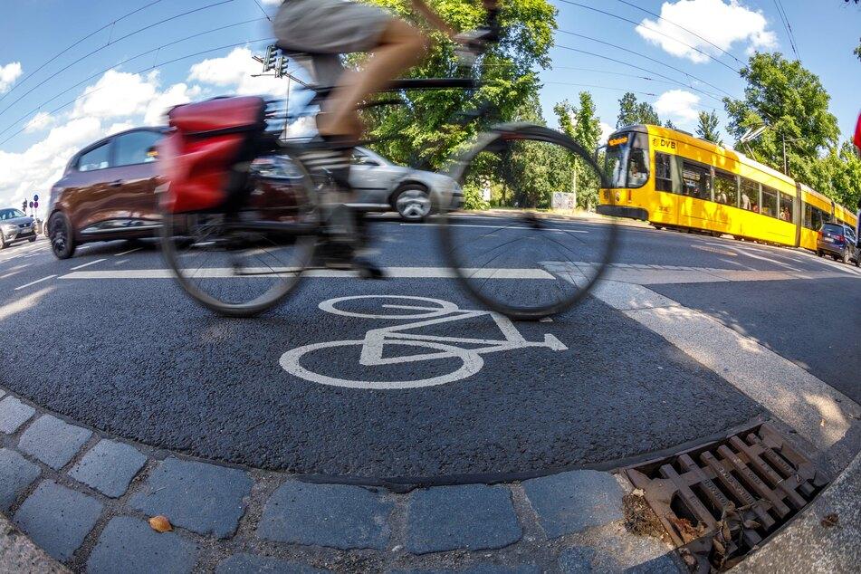 Vor allem im Berufsverkehr kann man mit dem Rad viel Zeit sparen.