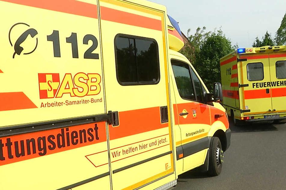 Der Rettungsdienst musste die Verletzten ins Krankenhaus bringen.