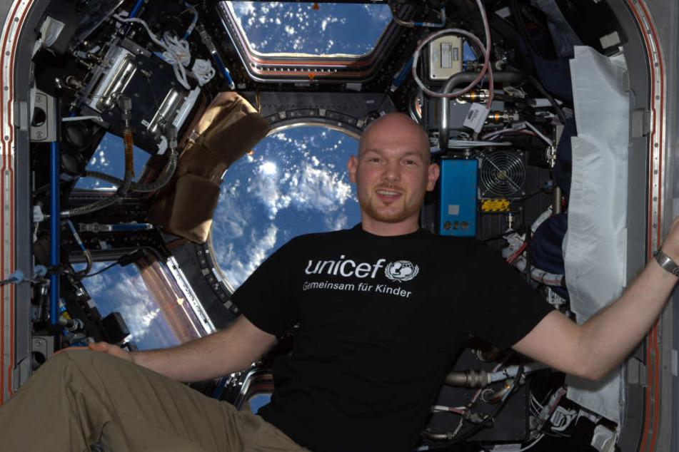 Astronaut Alexander Gerst setzt sich gemeinsam mit UNICEF für eine bessere Zukunft für alle Kinder ein.