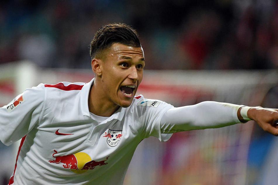 Davie Selke kam 2015 für acht Millionen Euro vom SV Werder Bremen zu RB Leipzig. Die Transfers werden mittels Darlehen finanziert.