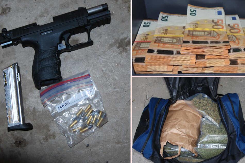 50 Kilo Drogen, Waffen, Bargeld: Darknet-Dealer bei Razzia hochgenommen
