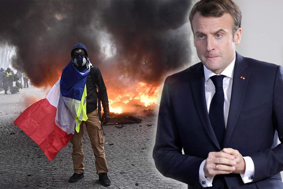Emmanuel Macron will sich zur Krise in Frankreich äußern