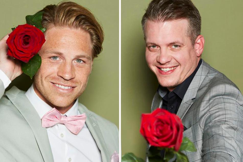 Key Account Manager Benedikt (31, l.) aus Karlsruhe und Betriebsleiter Gustav (32) aus Paderborn. (Fotomontage)