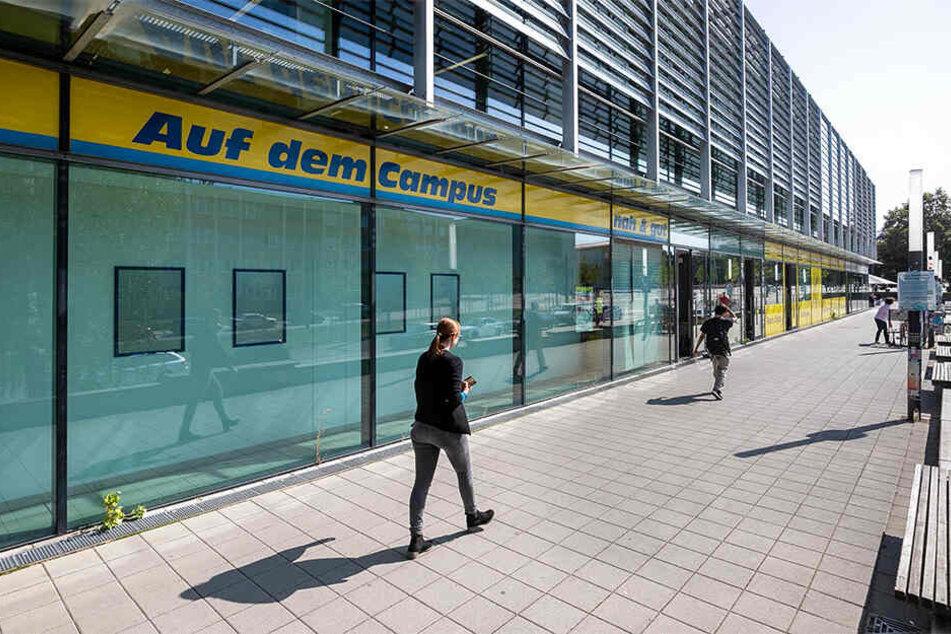 Der Campus-Markt für den schnellen Einkauf zwischendurch bleibt den Studenten über den September hinaus erhalten.