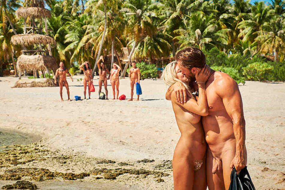 Von den anderen Inselbewohner wurden sie zum Traumpaar gekürt.