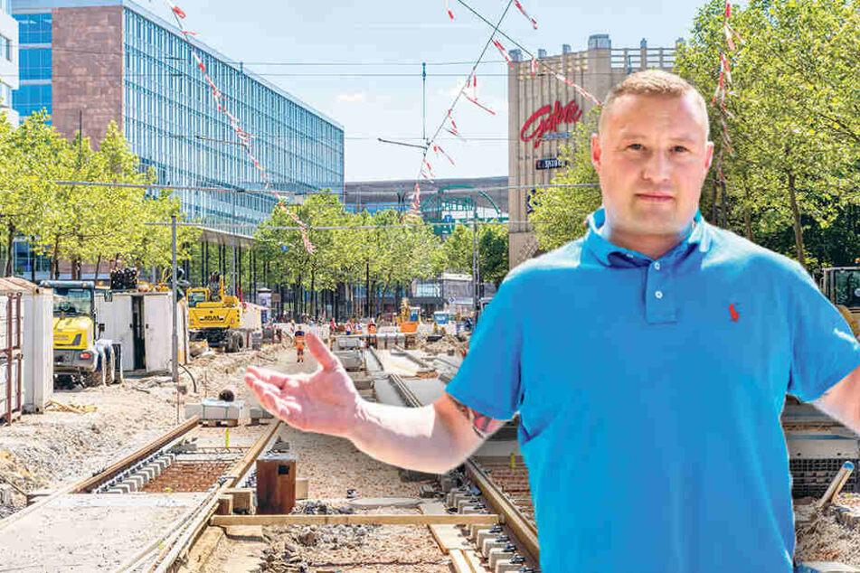 Händler in Angst: Droht zum Stadtfest ein Baustellen-Chaos?