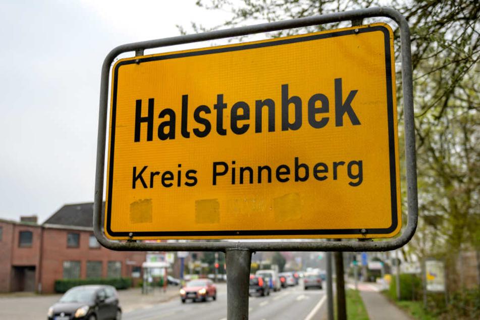 Die Polizei nahm den Tatverdächtigen in Halstenbek fest.