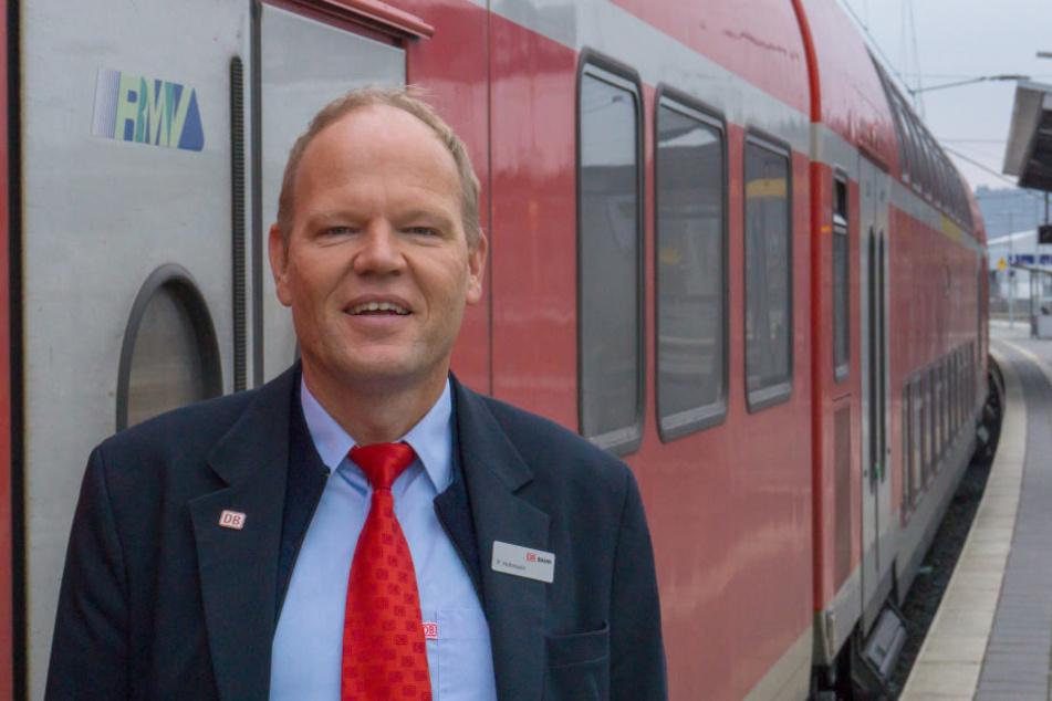 Peter Hohmann (46) aus Fulda ist der beliebteste deutsche Zugbegleiter.
