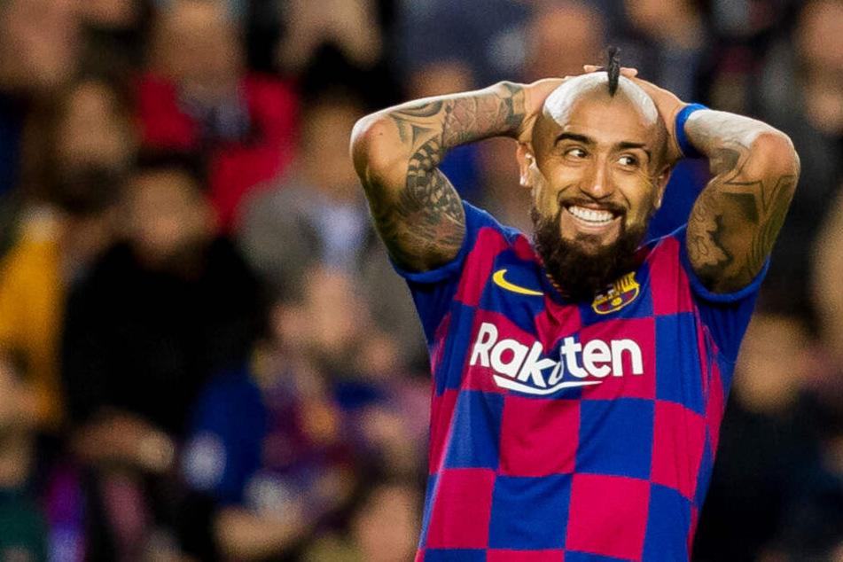 Vidal verklagt den FC Barcelona auf 2,4 Millionen Euro!