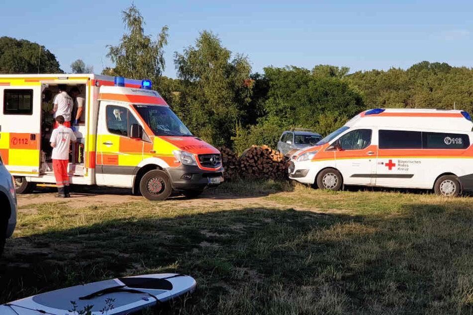 An einem Badesee in Bayern ist es zu einem dramatischen Zwischenfall gekommen.