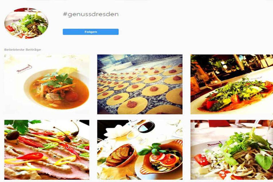 So schön kann Essen sein: Mit einem Instagram-Profil sollen Wirte ihren Gästen in Sachsen jetzt bald Lust auf mehr machen.