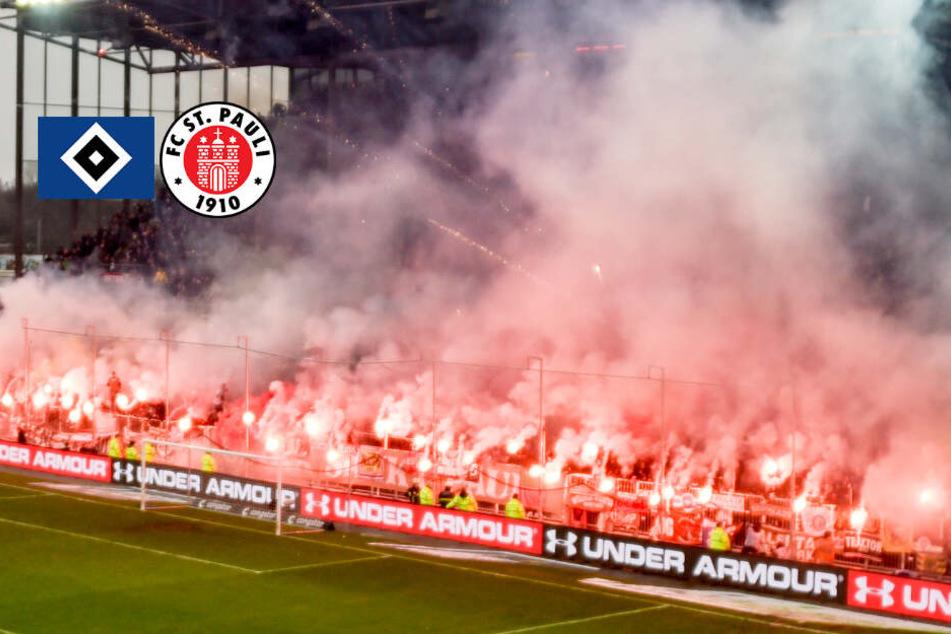DFB ermittelt wegen der Pyro-Hölle von St. Pauli