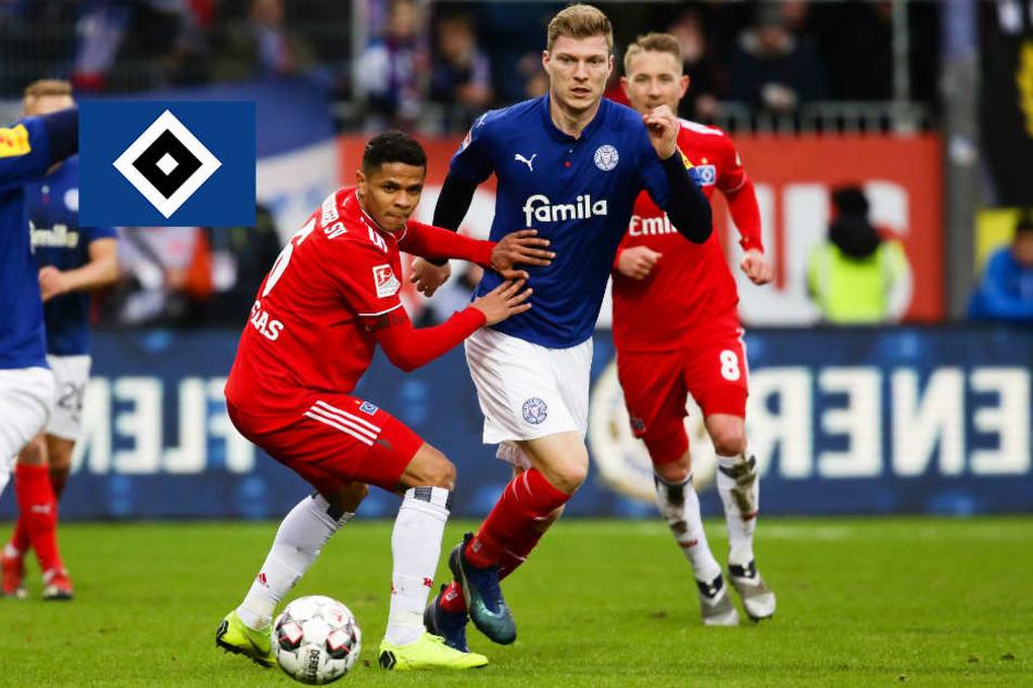HSV wollte die Revanche und geht erneut gegen Kiel unter