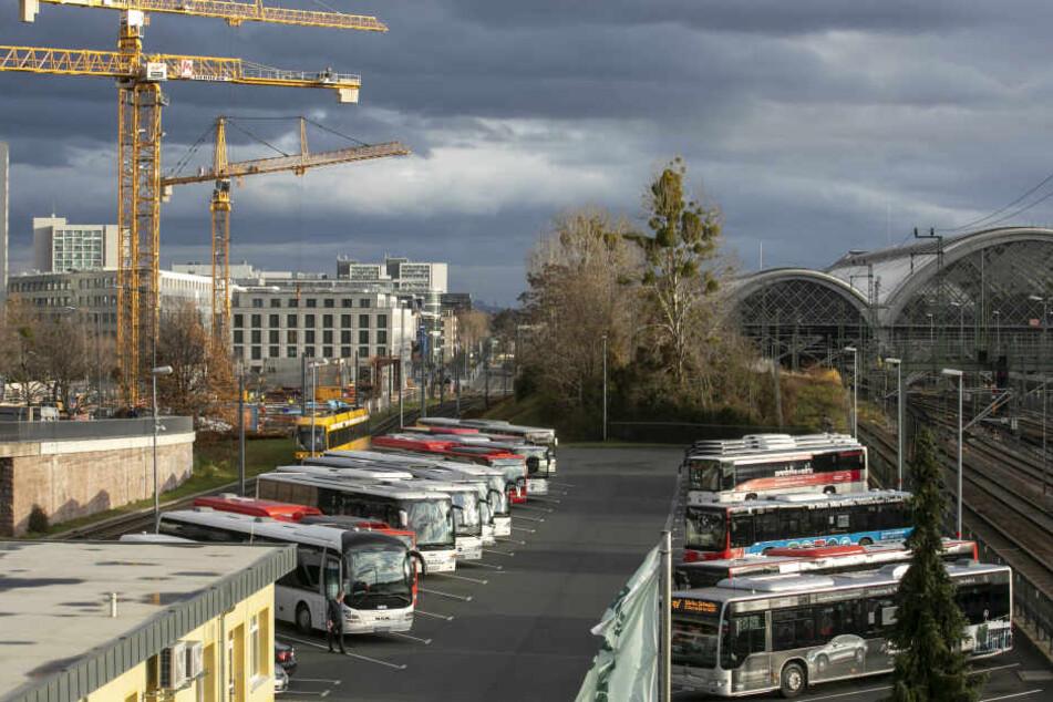 Am Busparkplatz an der Ammonstraße wurden die Beamten auf das Gefährt aufmerksam.