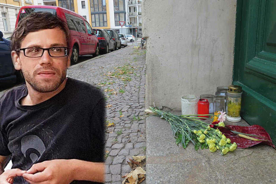 Stefan M. (34) wurde Anfang Oktober vor seinem Wohnhaus in der Eduardstraße ermordet.