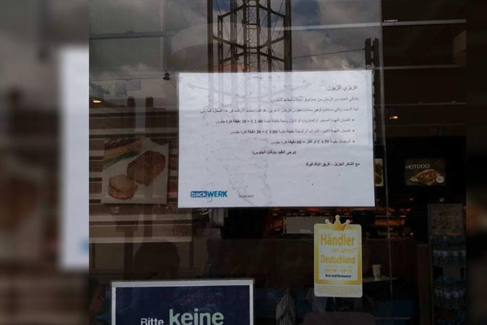 Fremdenfeindlich? Leipziger Bäcker führt beleidigende Regeln ein