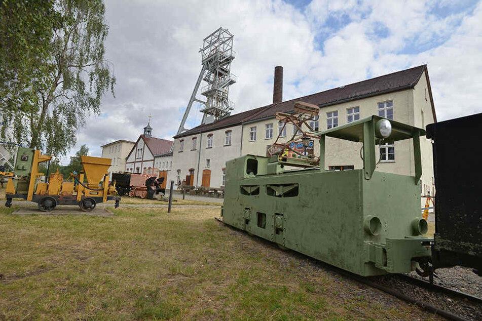 """Die """"Reiche Zeche"""" in Freiberg präsentiert sich im Rahmen der Landesausstellung 2020."""