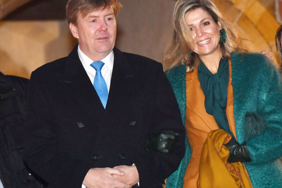 Zum Auftakt des Thüringen-Besuchs war das niederländische Königspaar in Eisenach.