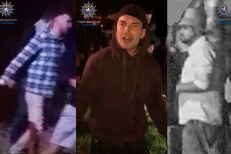 Nach Gewalt-Orgie auf Musikfestival: Polizei sucht diese Männer