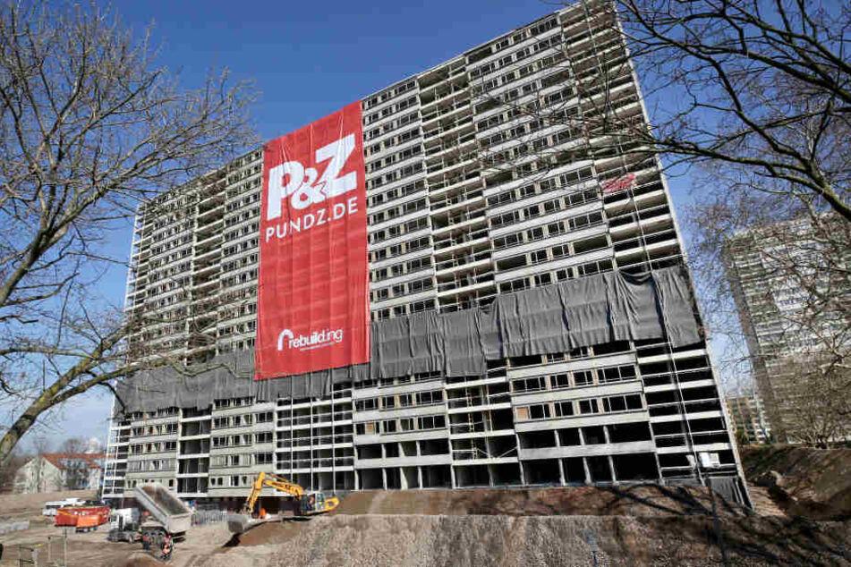 Das Gebäude in Duisburg soll am Sonntag um 12 Uhr gesprengt werden.