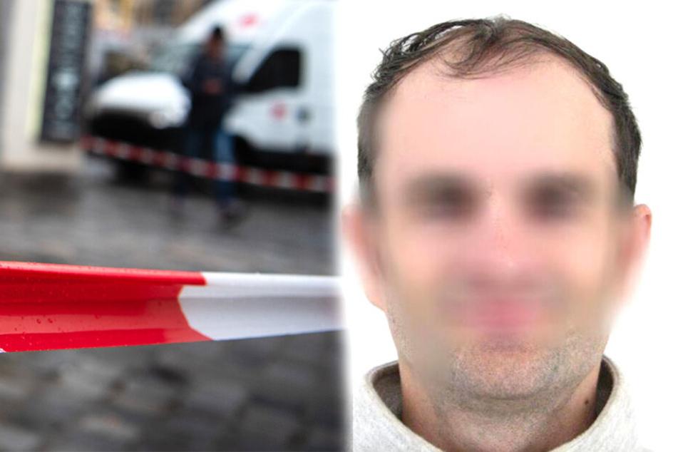 Der mutmaßliche Täter wurde nach einer längeren Fahndung festgenommen (Bldmontage).