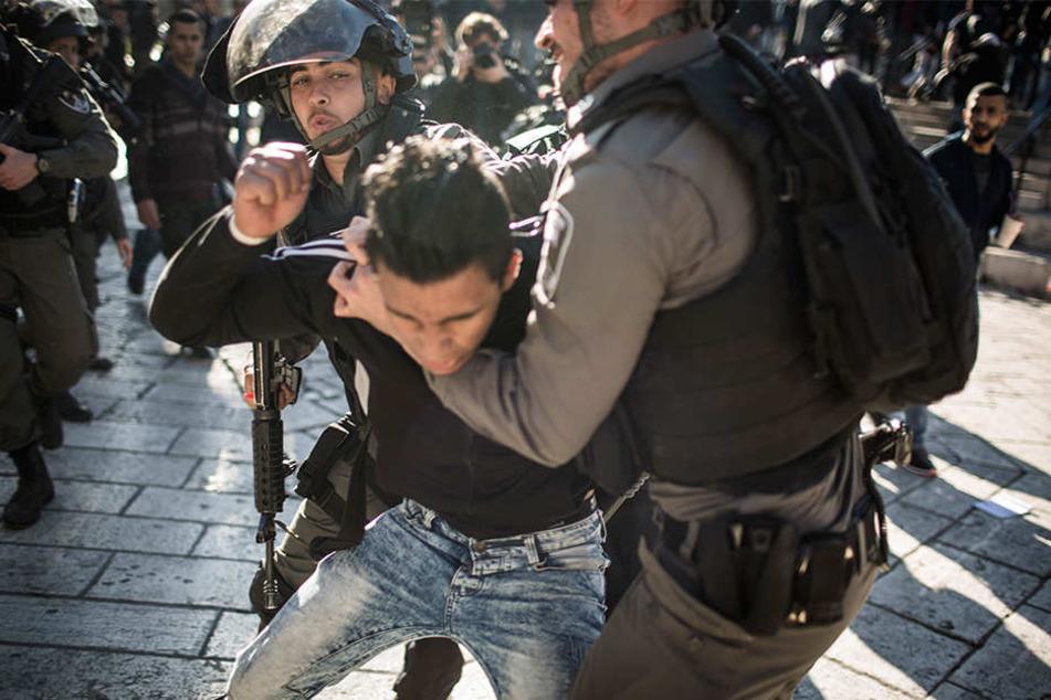 Unruhen in Jerusalem: Ein Toter und 280 Verletzte