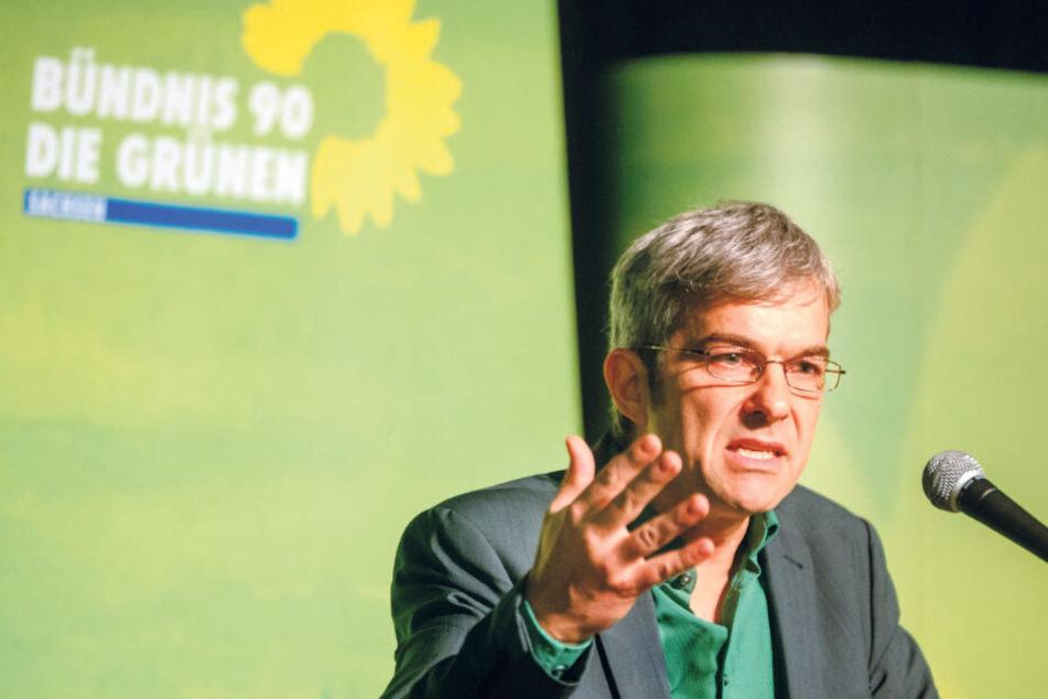 Volkmar Zschocke (50) tritt für die Grünen an.